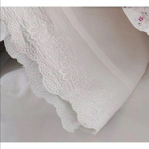 Simply Shabby Chic Woodrose Lace King Pillowcases